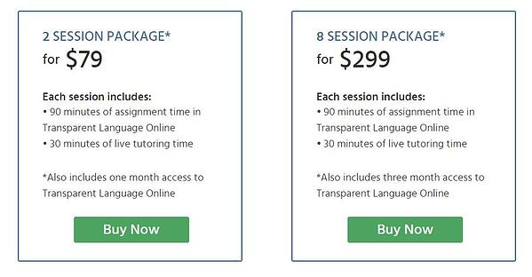 Connect Prices Tutoring
