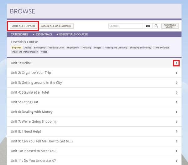 essentials browse topics